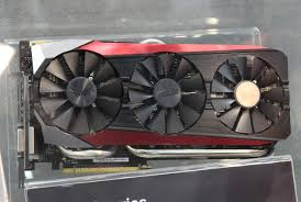 asus triple fan strix cooler pictured debuts with gtx 980 ti