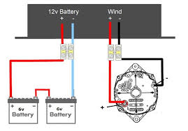 wiring diagram for alternator windmill wiring discover your