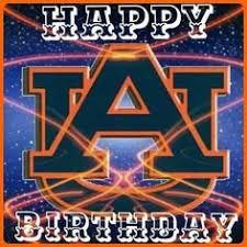 Wars Happy Birthday Quotes Auburn Tigers Happy Birthday W D E Pinterest Auburn Tigers