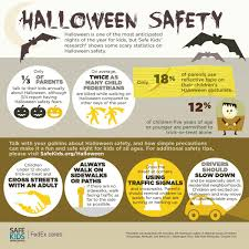 halloween safety infographic safe kids worldwide