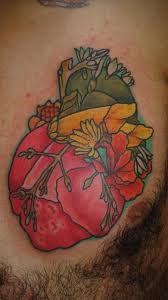 faun u0027s blog esteban u0027s flower heart tattoo