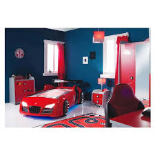 Fun In The Bedroom Your Child Will Race To The Bedroom With Turbo Red Bed With Foam