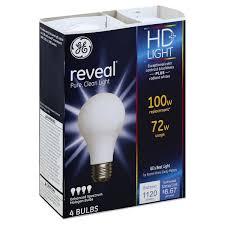ge reveal hd light light bulbs enhanced spectrum halogen 72