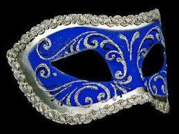 blue masquerade masks decor era masquerade masks blue silver for men or women simply