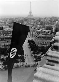 German Flag 1940 The Flag Over Paris