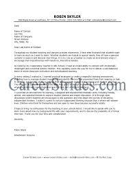 preschool teacher cover letter gallery cover letter sample