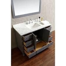 Wooden Bathroom Furniture Solid Wood Bathroom Vanity With Antique Look U2014 The Homy Design