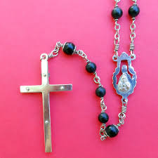 creed rosary fabulous 1940s bakelite sterling creed rosary twisted pins sold