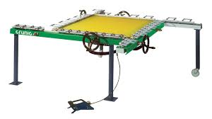 Stretching Table Stretching Machine G Stretch 210 For Screen Printing