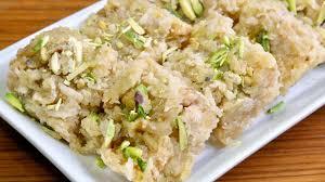 Manjula Kitchen Apple Coconut Barfi Manjula U0027s Kitchen Indian Vegetarian Recipes
