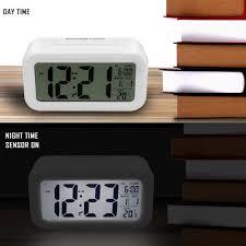alarm clock arespark digital travel alarm clock battery operated