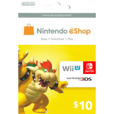 nintendo gift card nintendo eshop card 10 usd usa account digital