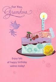 free happy birthday day card for grandma hallmark 3d new