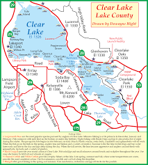 Wildfire Clearlake Ca by Clear Lake Map California California Map