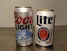 coors light beer fridge fewd fight coors light vs miller lite fewd snobs