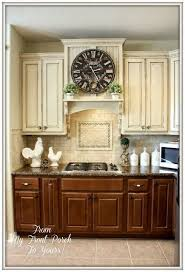 kitchen paint cabinets at bottom light at top 12 before and beautiful after kitchen diy makeover