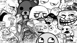a whole bunch of rage faces plus pedobear and longcat 3 rage