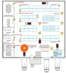 warehouse layout factors warehouse layout with automated collision sensors stuff only we