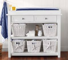 Changing Tables For Babies Universal Changing Table U0026 Topper Set Pottery Barn Kids