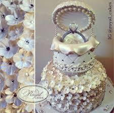 ring cake topper harsanik engagement ring box cake by royal cakes