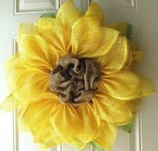 sunflower mesh wreath best 25 sunflower wreaths ideas on deco mesh wreaths how