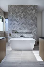 Best  Bathroom Feature Wall Ideas On Pinterest Freestanding - Design tiles for bathroom