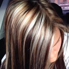 lowlights on white hair white and caramel highlights brown lowlights hair colors ideas