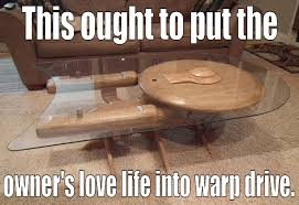 Funny Coffee Tables - irti funny picture 1201 tags star trek table love life into