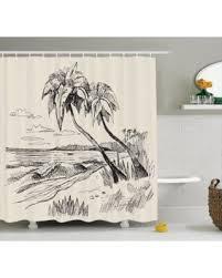 get the deal apartment decor shower curtain set original sketch
