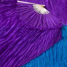 silk fans celestial silk veil fans festival flow moodhoops