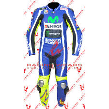 motorcycle leather suit racing wears valentino rossi yamaha movistar motogp 2016 motorbike