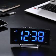 sveglia comodino moderno led radio sveglia luminosa ad arco comodino funzione
