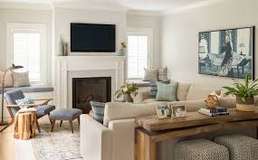 Cozy Family Room By Jamie Keskin Design TV Rooms Pinterest - Cozy family rooms