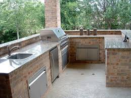 outdoor kitchen sink cook outside this summer 11 inspiring