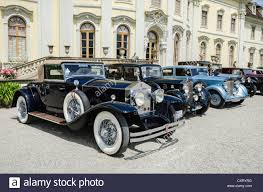 rolls royce vintage rolls royce classic cars parked in front of ludwigsburg palace