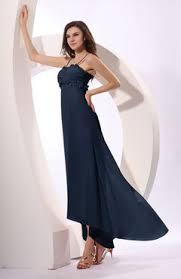 navy blue color cocktail dresses tea length uwdress com