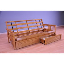 Bed Frame With Drawers Futon Frames You U0027ll Love Wayfair