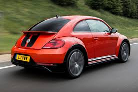 red volkswagen beetle volkswagen beetle set to go electric and rear wheel drive autocar