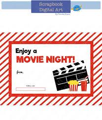 printable redbox gift card tag printable by scrapbookdigitalart