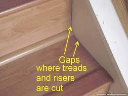 Installing Laminate Flooring On Stairs Laminate On Stairs With Bad Installation