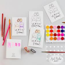 Cute Will You Be My Bridesmaid Ideas Coloring Cards Will You Be My Bridesmaid Maid Matron Of Honor