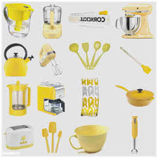 yellow accessories for kitchen vlaw us