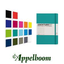 leuchtturm 1917 notebook leuchtturm1917 notebook medium a5 17 colors appelboom