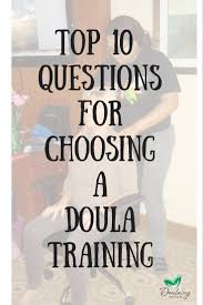 experience doulaing the doula
