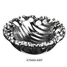 decorative home decor silver fruit bowl u0026 fruit plate buy