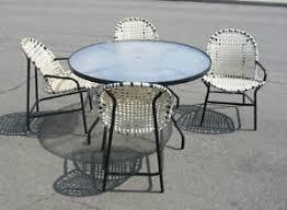 Pagoda Outdoor Furniture - vintage mid century tropitone pagoda patio dining set brown