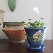 Vintage Flower Pots - 158 best planters images on pinterest planters ruby lane and