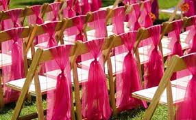 fabric ribbons picture of chair decor ideas with fabric and ribbon