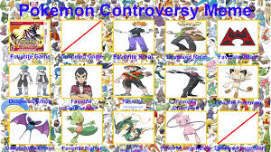Meme Pokemon - pokemon controversy meme by raidpirate52 on deviantart