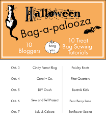 halloween bags to make halloween trick or treat bag tutorial an easy drawstring treat